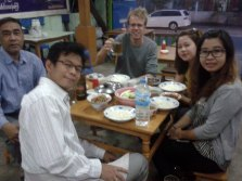 Dinner in Taunggyi, Shan State